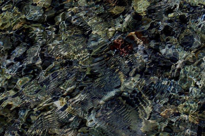 A few rocks - a little water and a gentle breeze