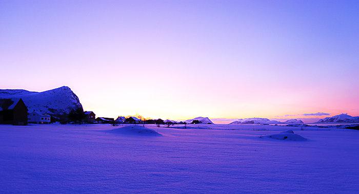 Winter in Norway.