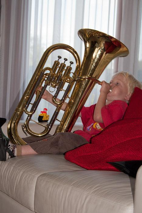 Small boy, big music