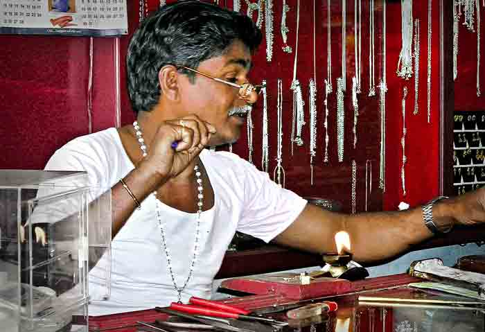 Jeweler in India