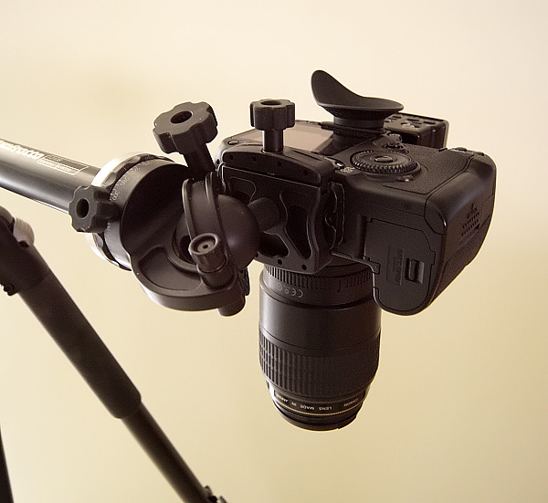 Angled viewfinder.