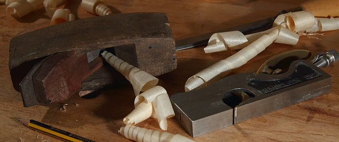 Carpentry Tools Still Life