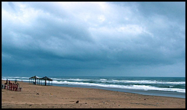 Sea beach of Puri, India