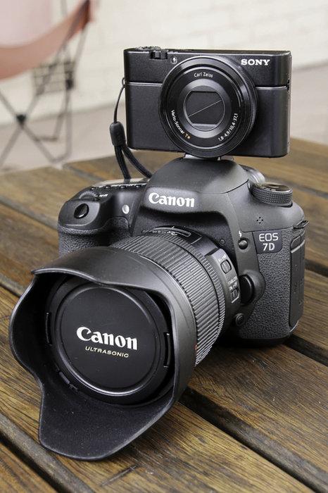 New Sony RX100 1-inch Sensor Compact Camera