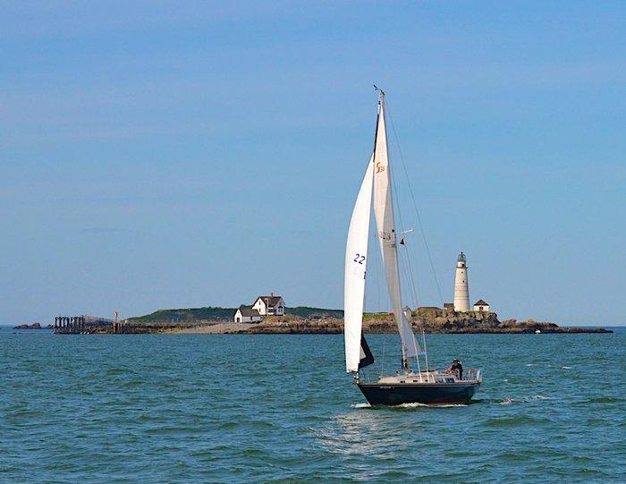 Sailing in Boston