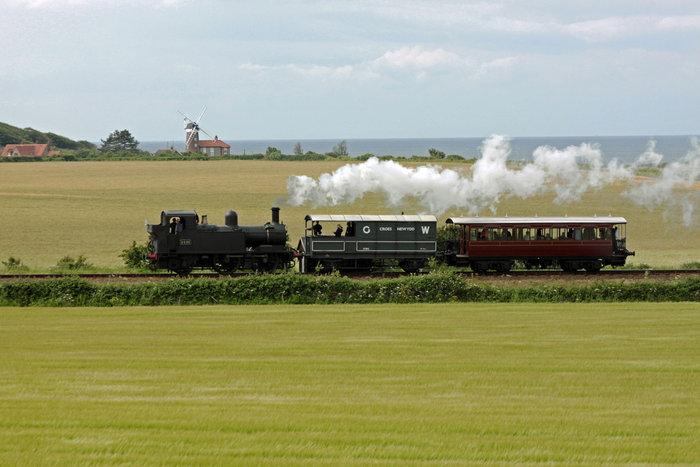 North Norfolk Railway. Titfield thunderbolt.