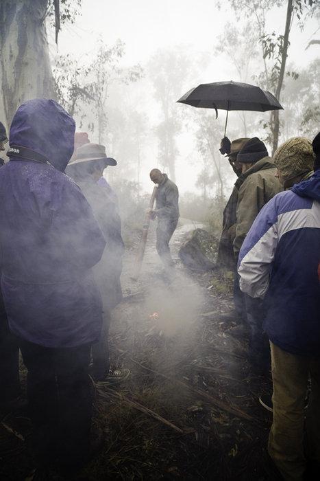 Snowy Mountains Smoking Ceremony