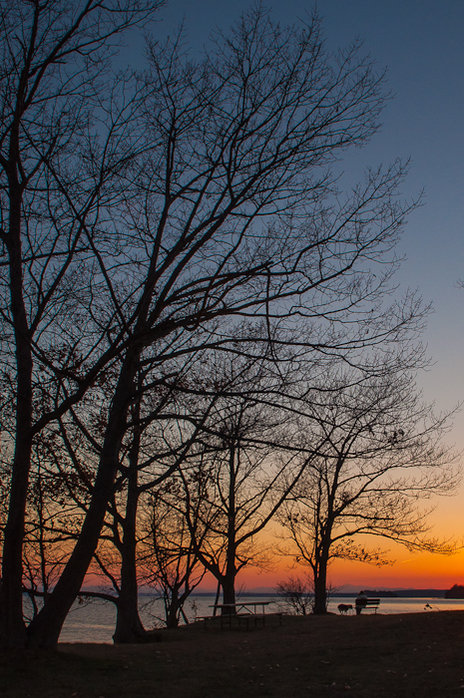 New lense first sunset