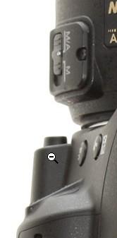 d3100 body, lens mount 'catch'