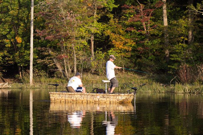 autumn fishermen