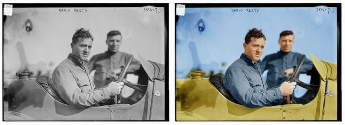 Completed Colorized Photo