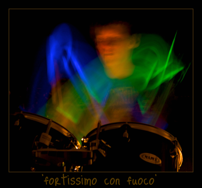 """Kay """"Fortissimo con fuoco""""  Themed challenge #6: """"It's all a blur"""" winner"""