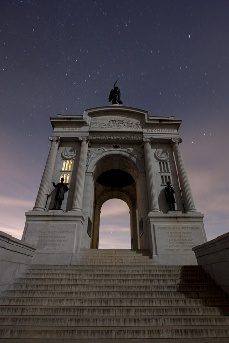 Some Recent Shots from Gettysburg