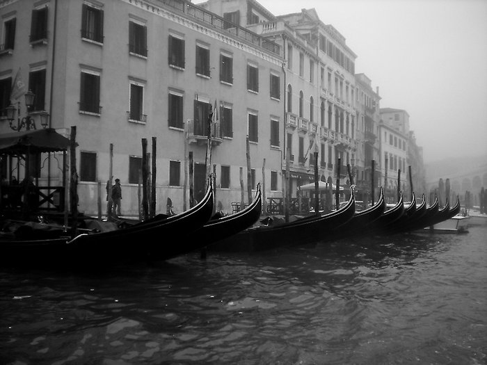 A little mist in Venice