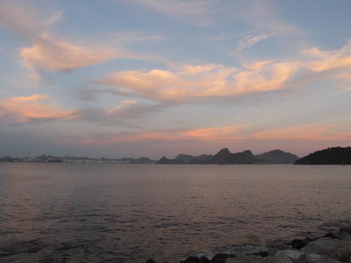 Sunset in Rio