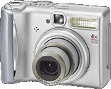 compact point and shoot camera