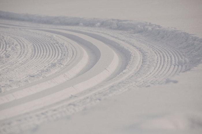 Set in snow