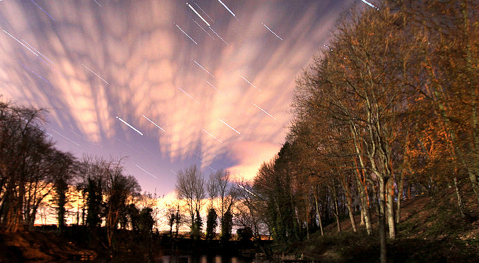 Long exposure astrophotos using dslr camera