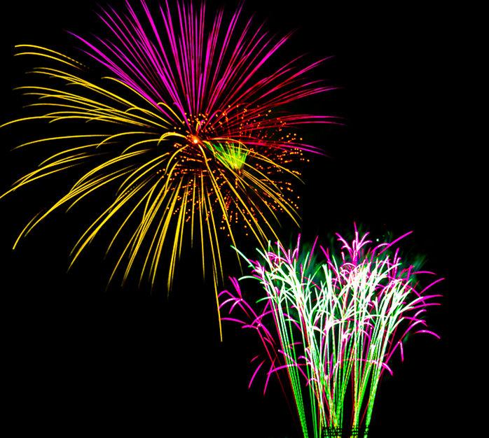 Fireworks Last Night