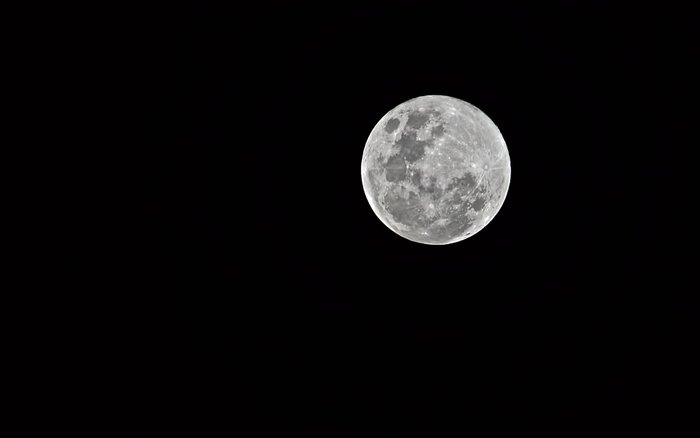 New tripod AND a full moon