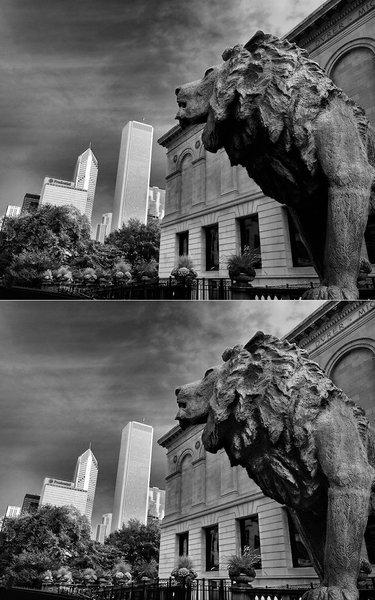 Chicago skyline 2 (redo)