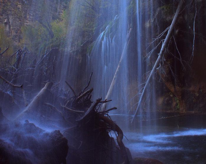 Hanging Lake - Behind the Falls