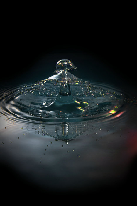 Calling all water collision drip art enthusiasts!
