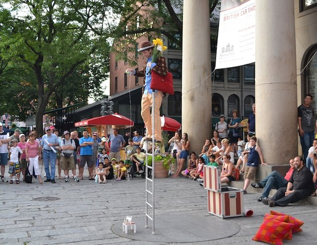 Boston Street Performer