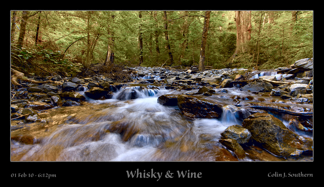 """Whisky & Wine"" + ""Blue Water Stream"""