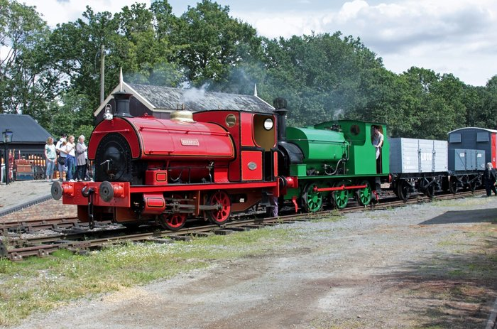 industrial steam locos