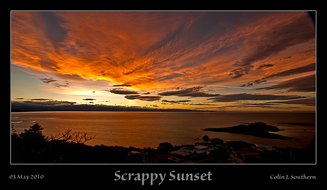 Scrappy Sunset