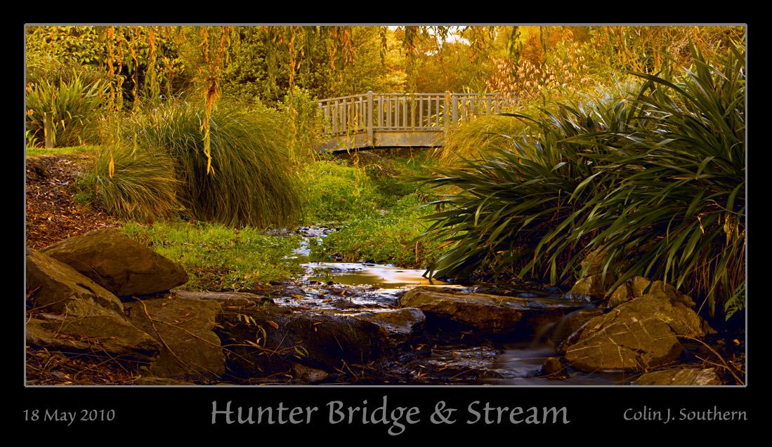 Hunter Bridge & Stream