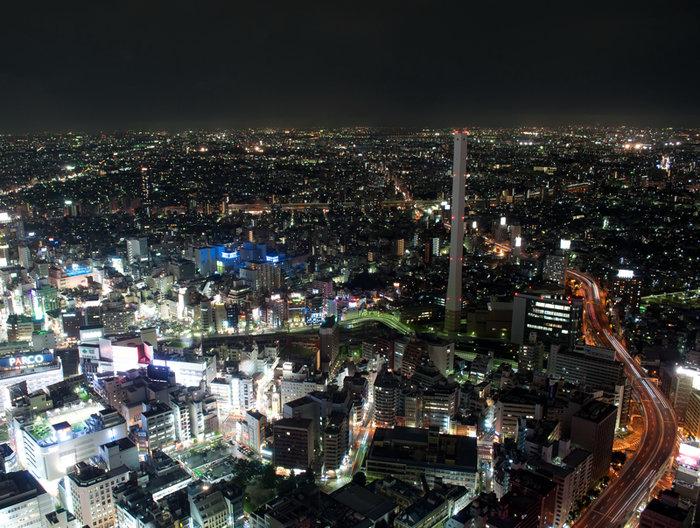 Nightshot at Ikebukuro, Tokyo, Japan